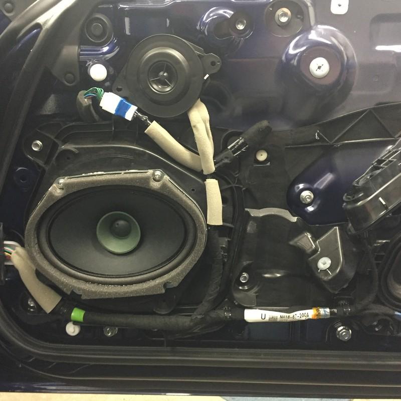 Mx5 Door Speakers  U0026 Door Panel Detail With Tweeter In It