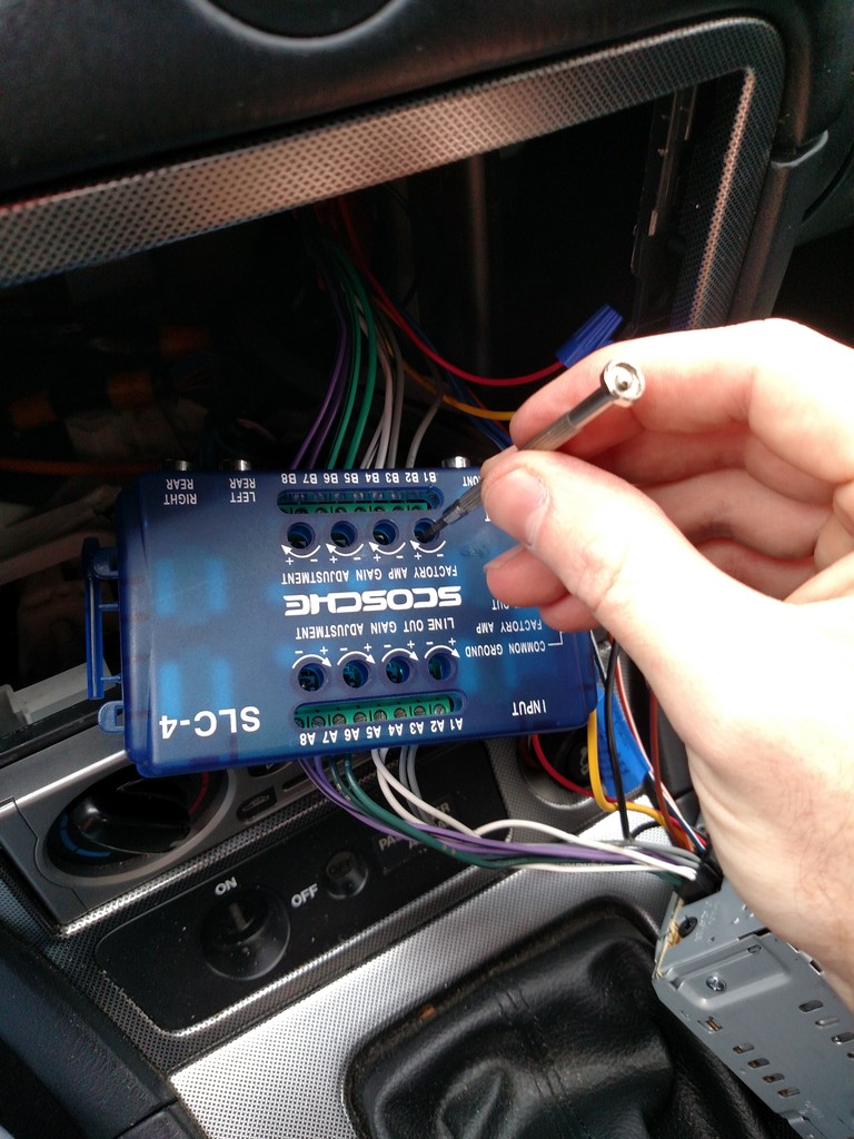 How To Install an Aftermarket Stereo and Use Factory Bose Amp and